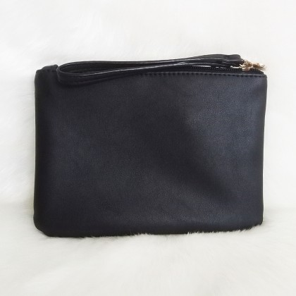 Guess Kyliee Bow Wristlet Black