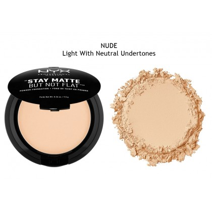 NYX Nude Stay Matte But Not Flat Powder Foundation