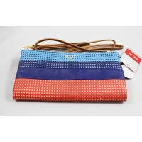 Relic Emma Organizer Wristlet Crossbody Bag Stripe Multi