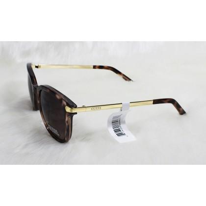 Guess Cat Eye Tortoise Brown Ladies Sunglasses