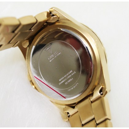 Guess U12005L1 Multifunction Crystal Women Gold Watch