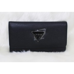 Guess Abree Slim Women Wallet Black