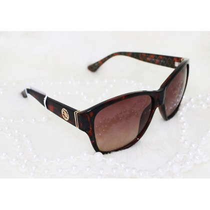 Guess Roxanne Square Brown Sunglasses