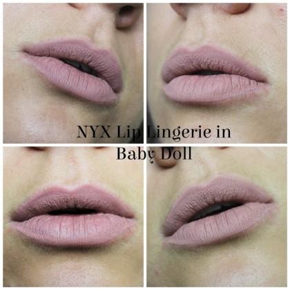 NYX Baby Doll Lip Lingerie Liquid Lipstick
