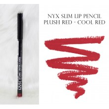 NYX Slim Lip Liner Pencil Plush Red