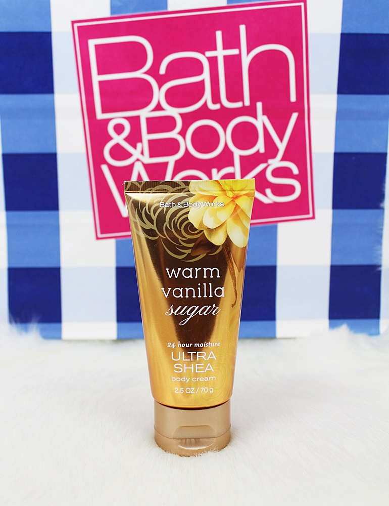 Bath & Body Works Warm Vanilla Sugar Travel Body Cream