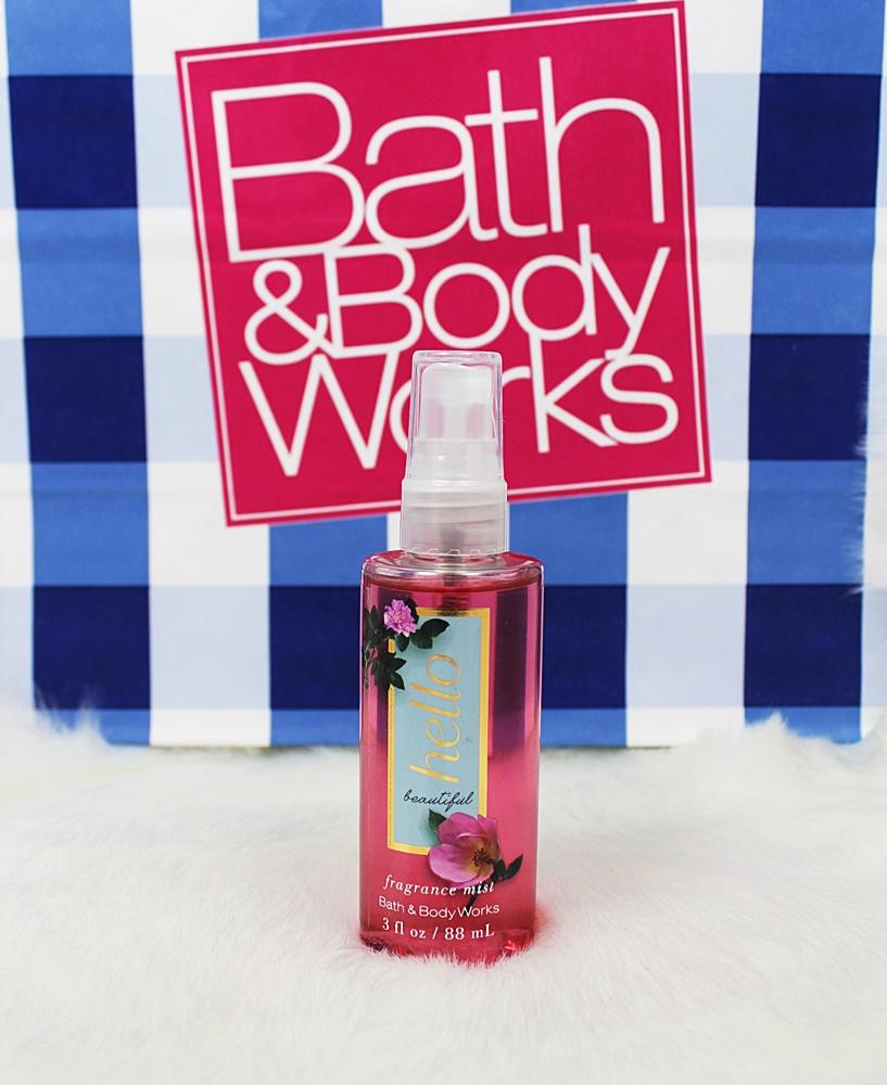Bath & Body Works Hello Beautiful Travel Fragrance Mist