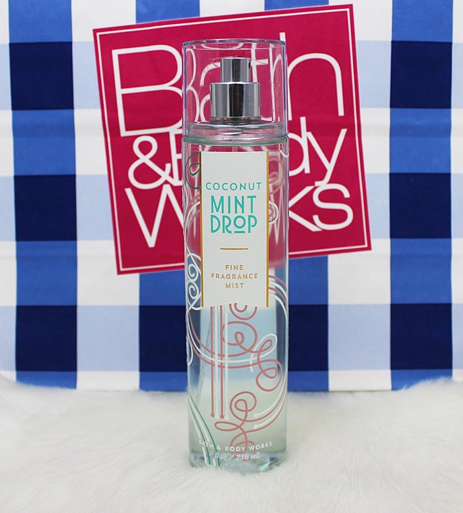 Bath & Body Works Coconut Mint Drop Fragrance Mist