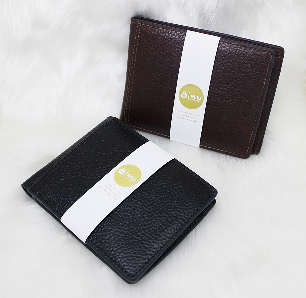Fossil Tyler RFID International Coin Wallet