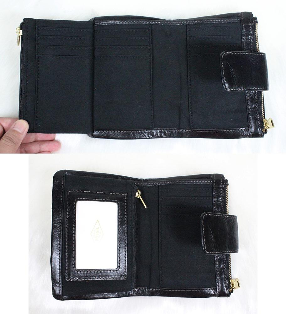 Fossil Ellis Multifunction Women Wallet Black
