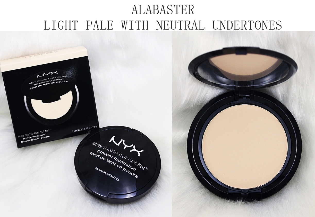 NYX Alabaster Stay Matte But Not Flat Powder Foundation