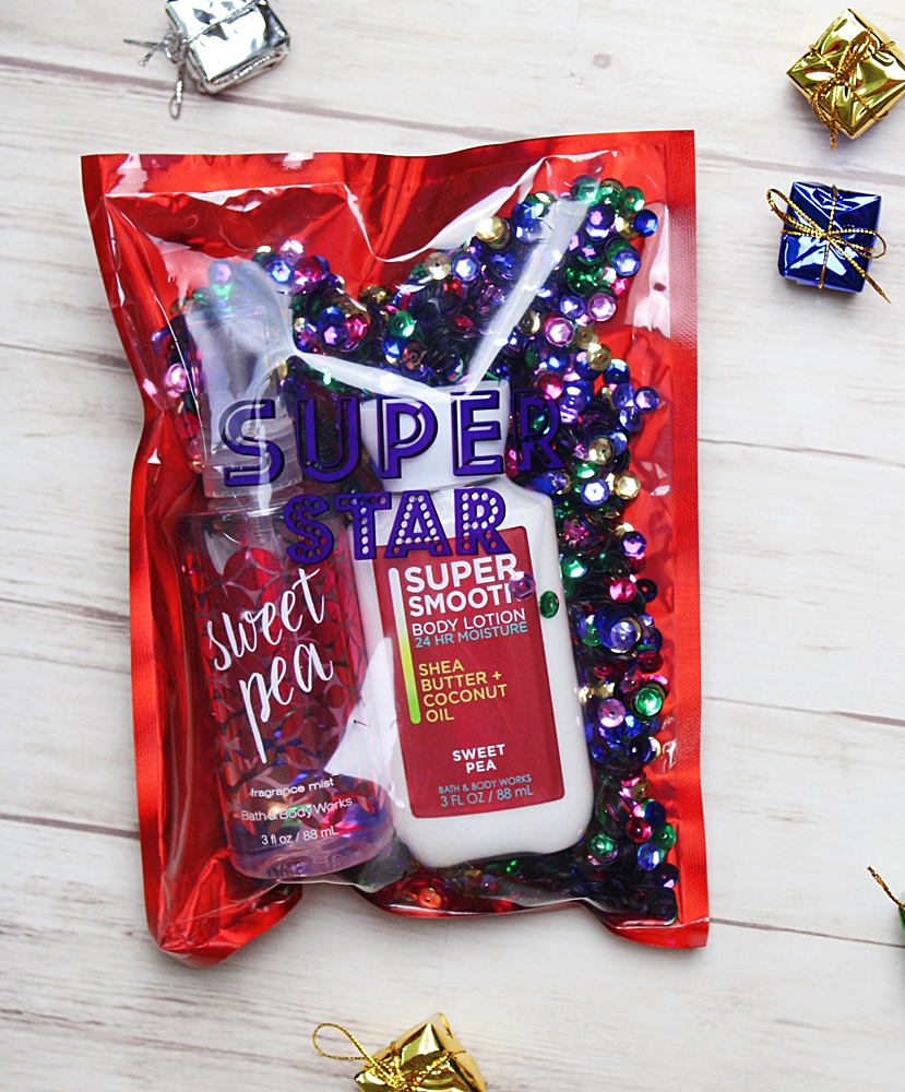 Bath & Body Works Sweet Pea Travel Duo Gift Set