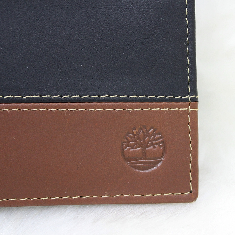 Timberland Hunter Passcase Men Wallet Black/Brown