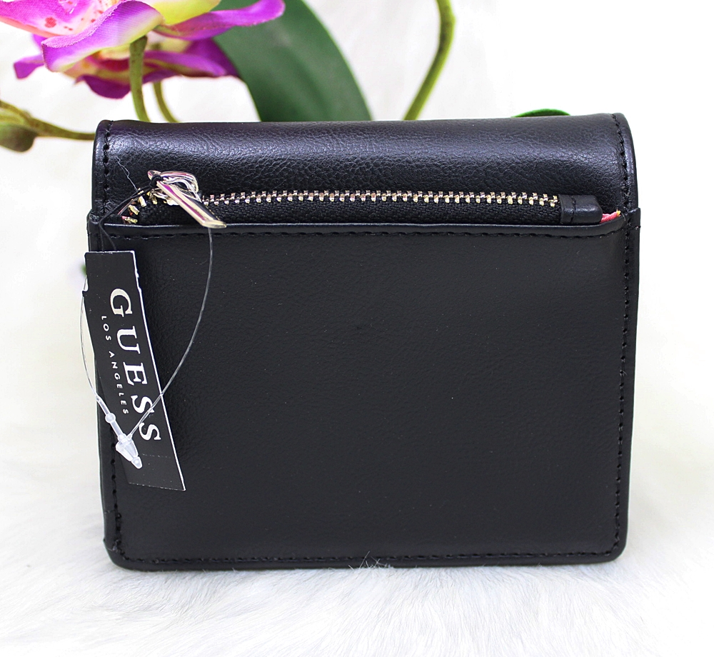 Guess Hartley French Medium Wallet Black