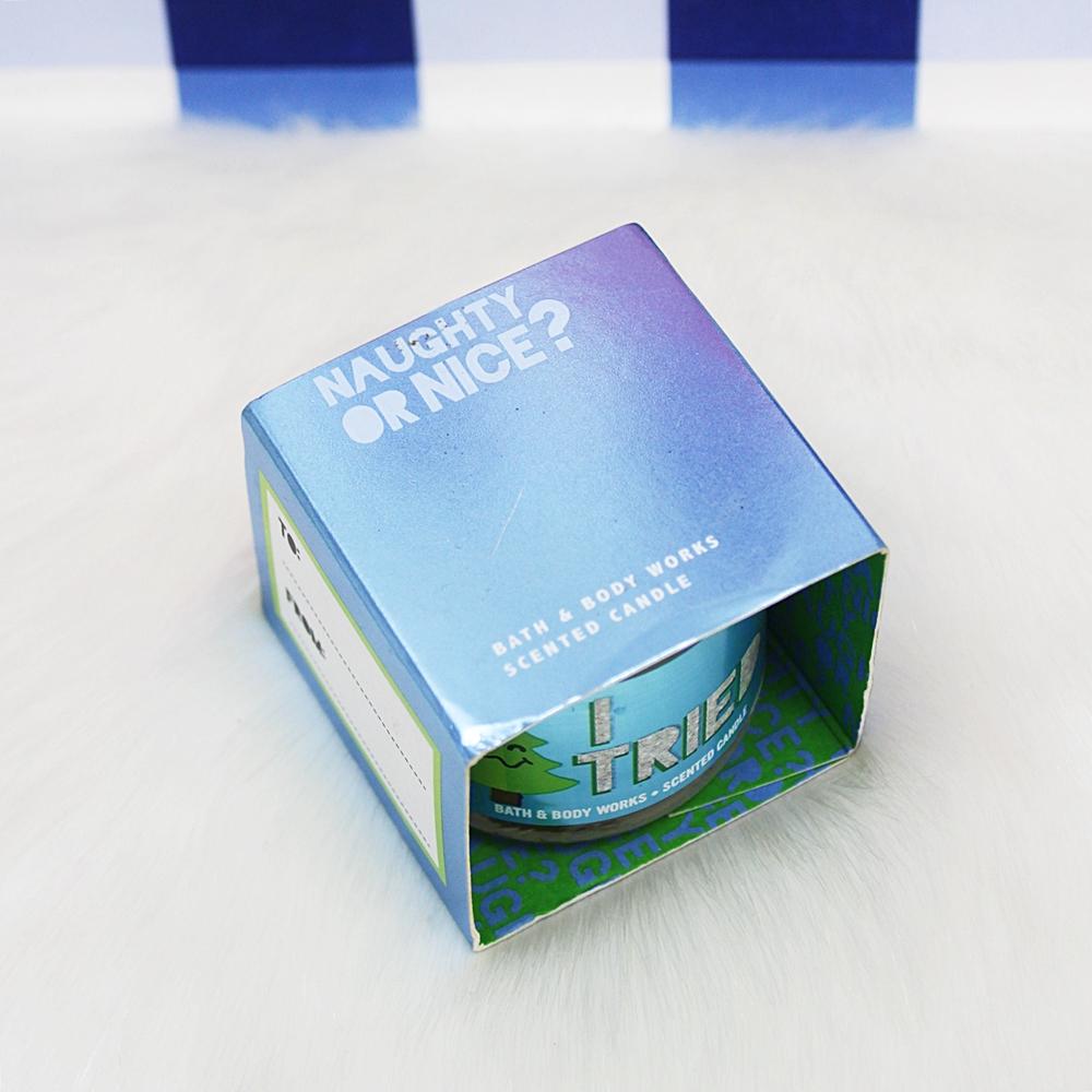 Bath & Body Works Mini Candle Twisted Peppermint