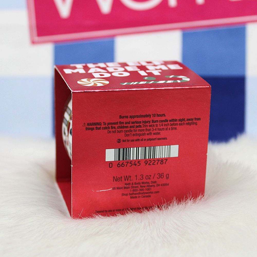 Bath & Body Works Mini Candle Peppermint Marshmallow