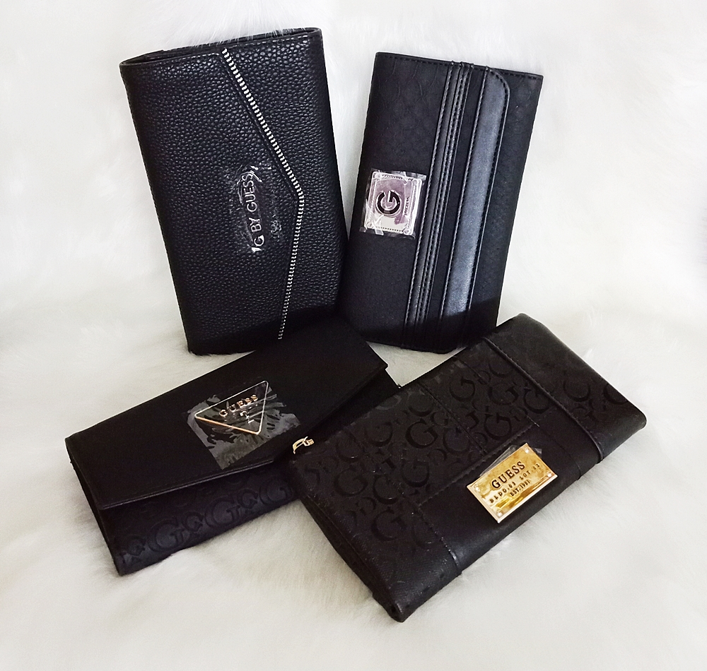 Guess Ladies Black Wallet