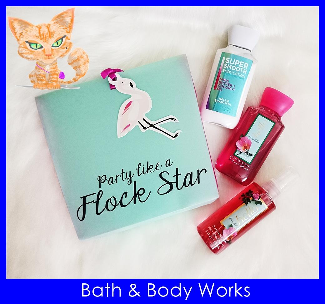 Bath & Body Works Flock Star Hello Beautiful Gift Set