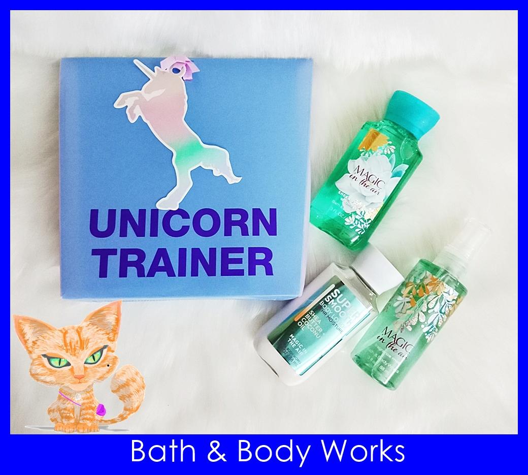Bath & Body Works Unicorn Trainer Magic In The Air Gift Set