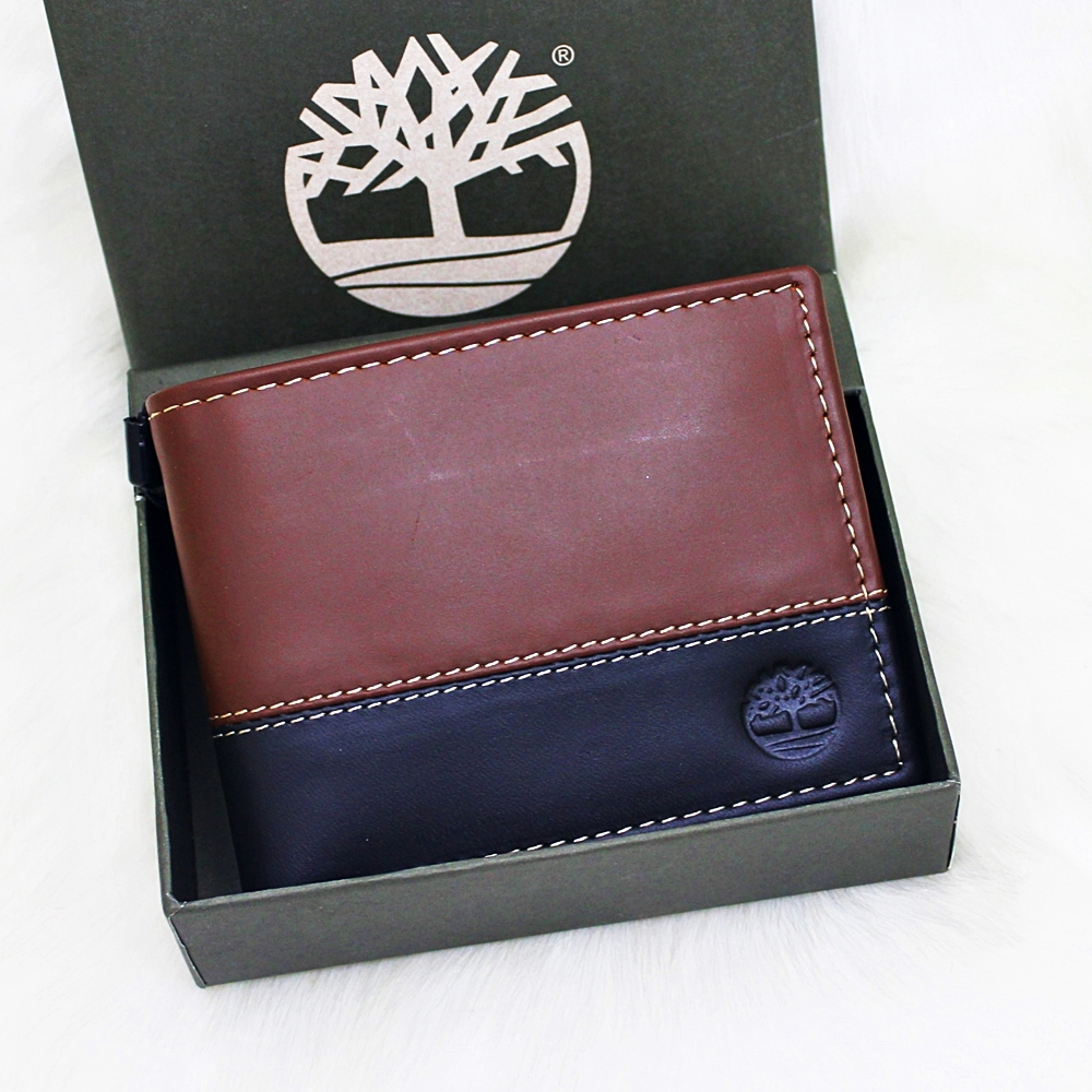 Timberland Hunter Passcase Men Wallet Brown/Black