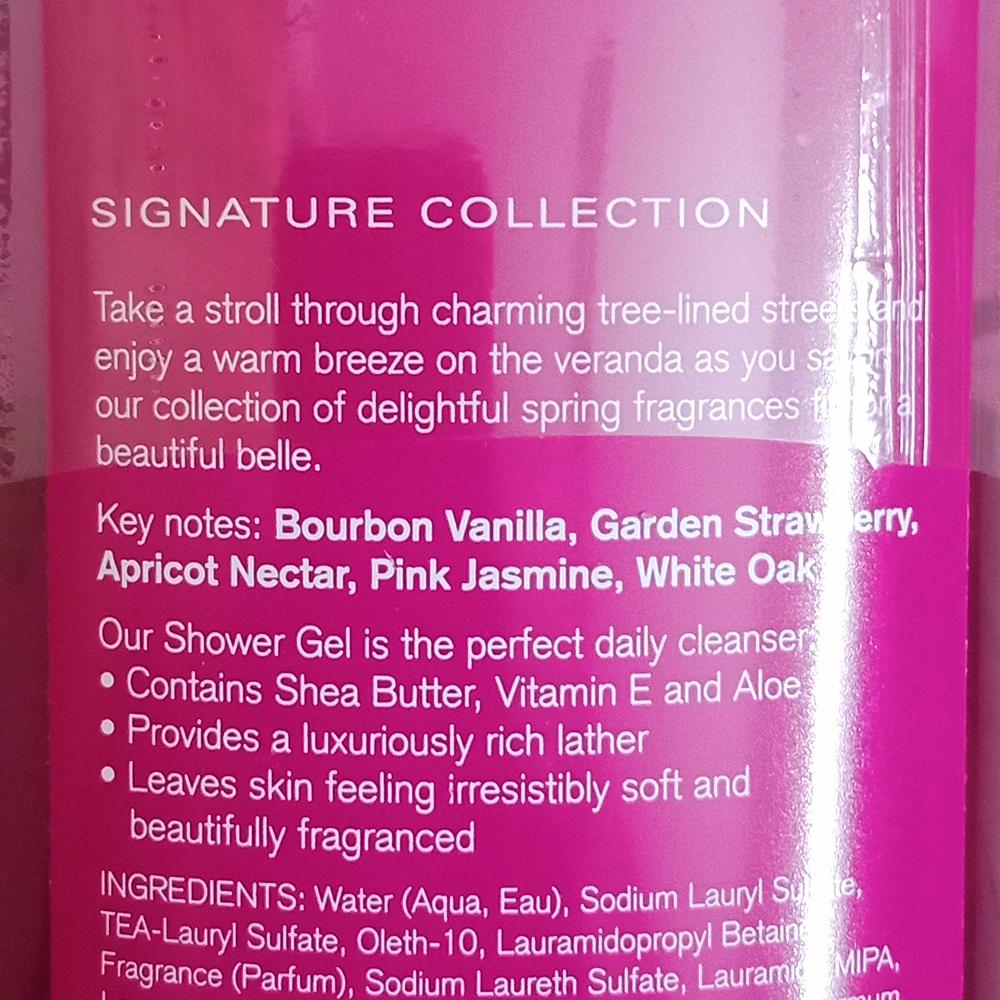 Bath & Body Works Bourbon Strawberry Vanilla