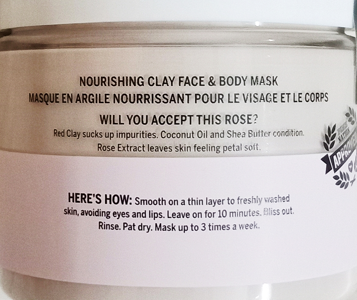 Victoria's Secret Face Clay Mask Dew This With Rose