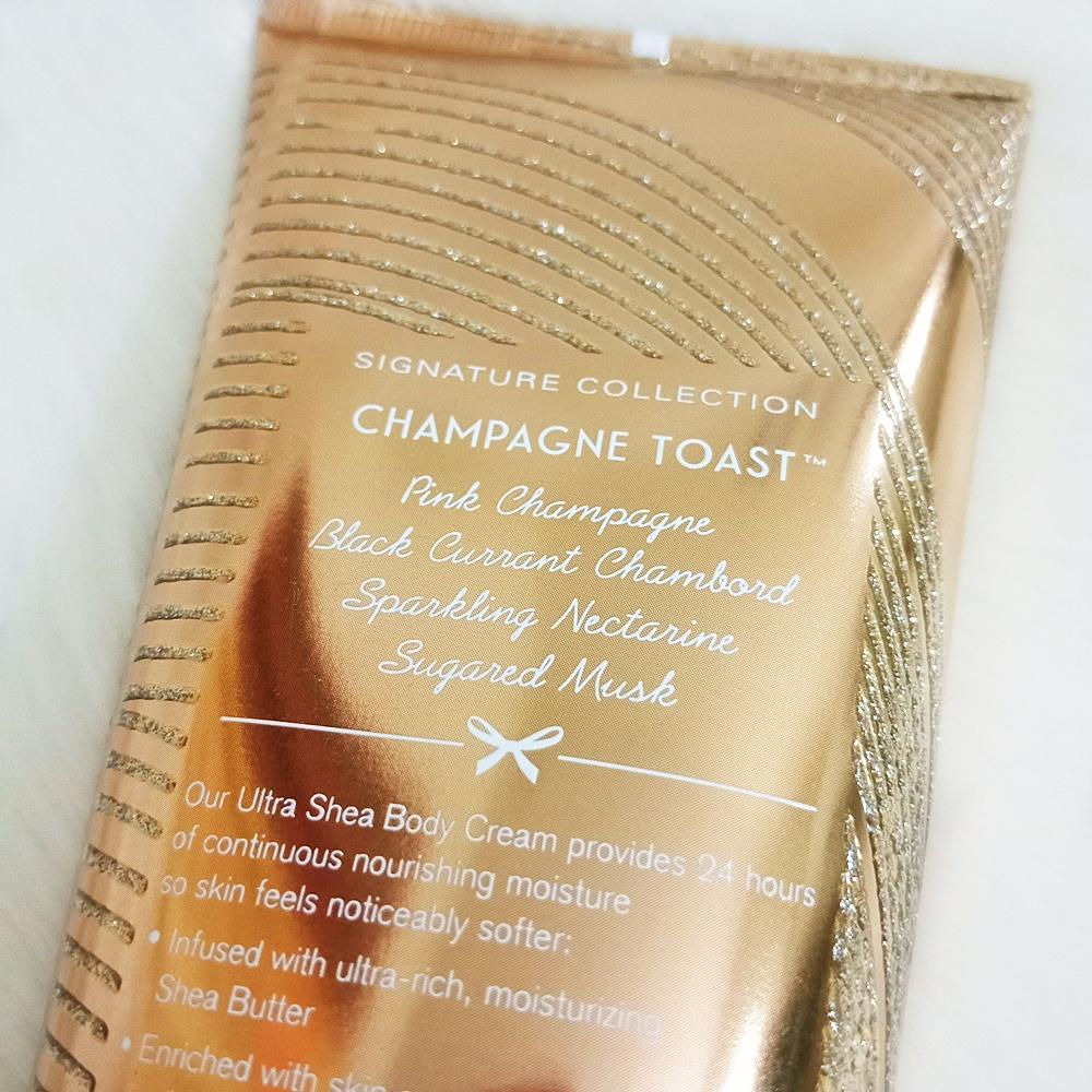 Bath & Body Works Body Cream Champagne Toast