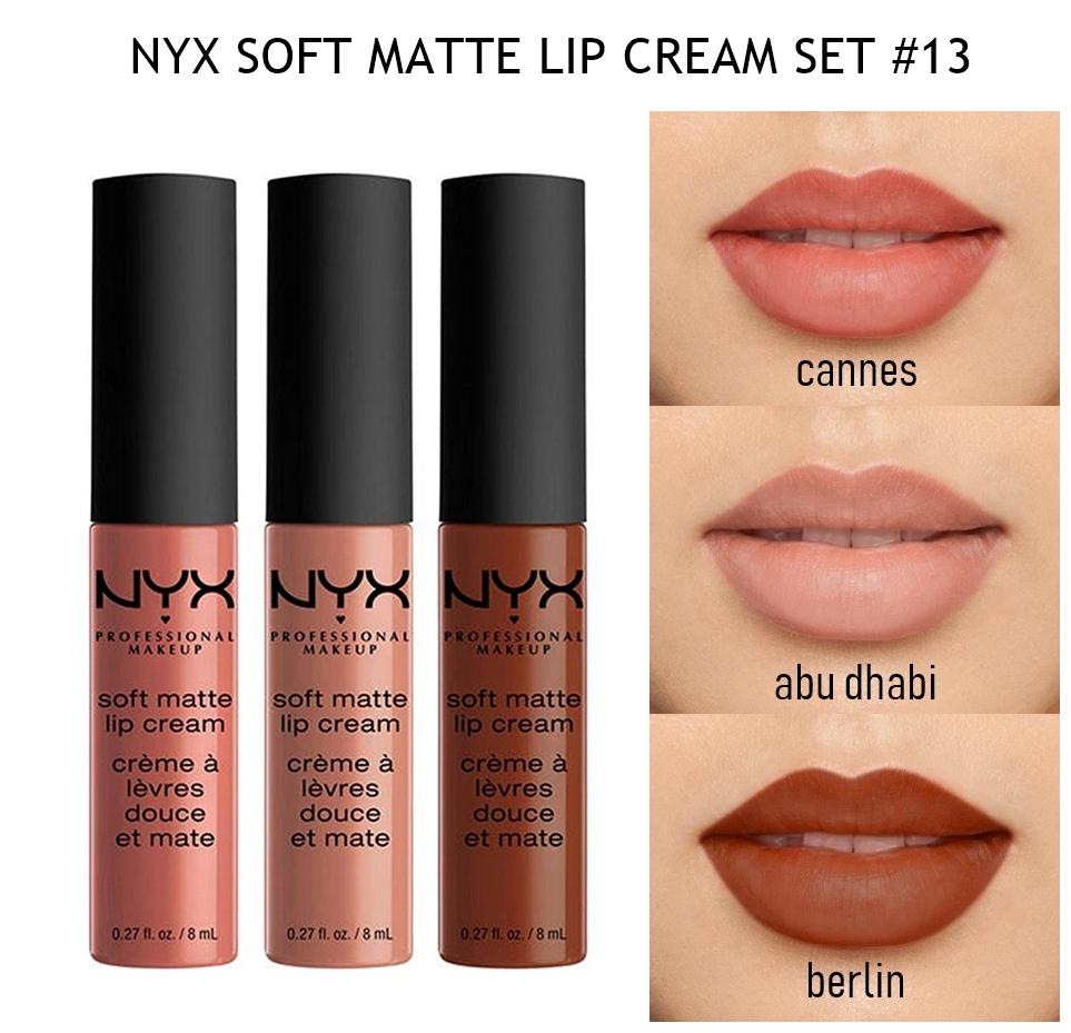 NYX Soft Matte Lip Cream Set 13