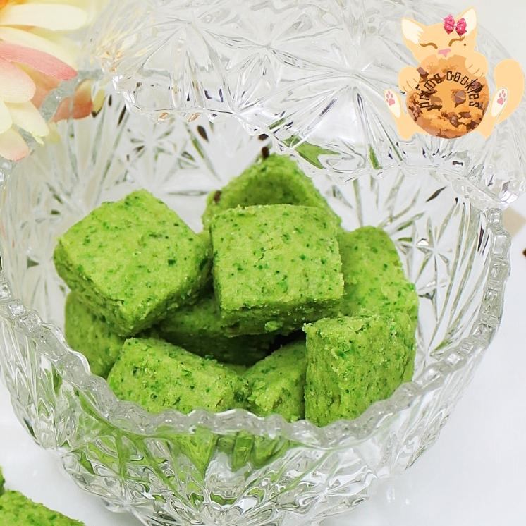 Primo Cookies Homemade Biskut Kacang Hijau Green Peas Cookies