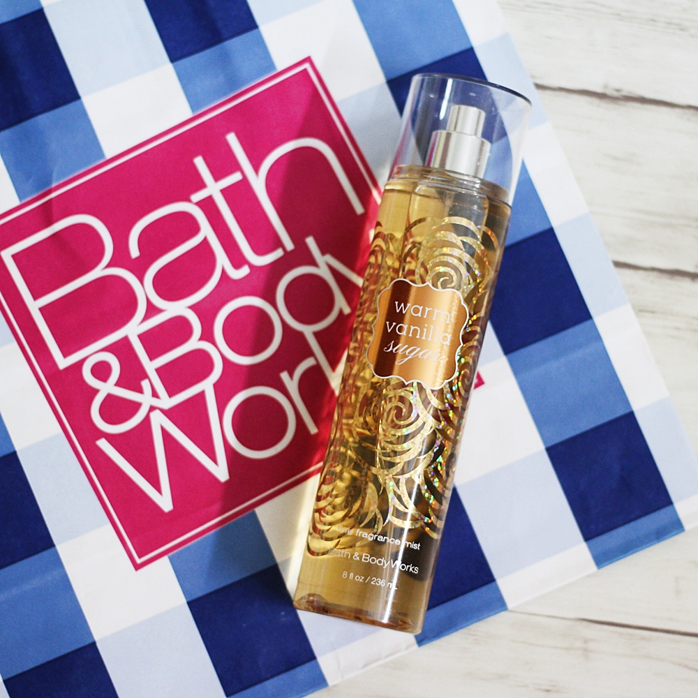 Bath & Body Works Warm Vanilla Sugar Body Mist