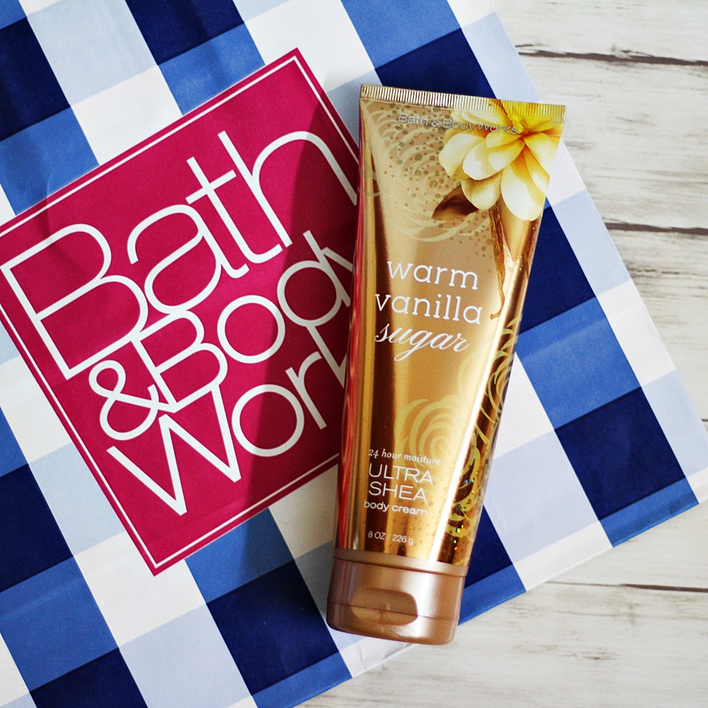 Bath & Body Works Warm Vanilla Sugar Body Cream