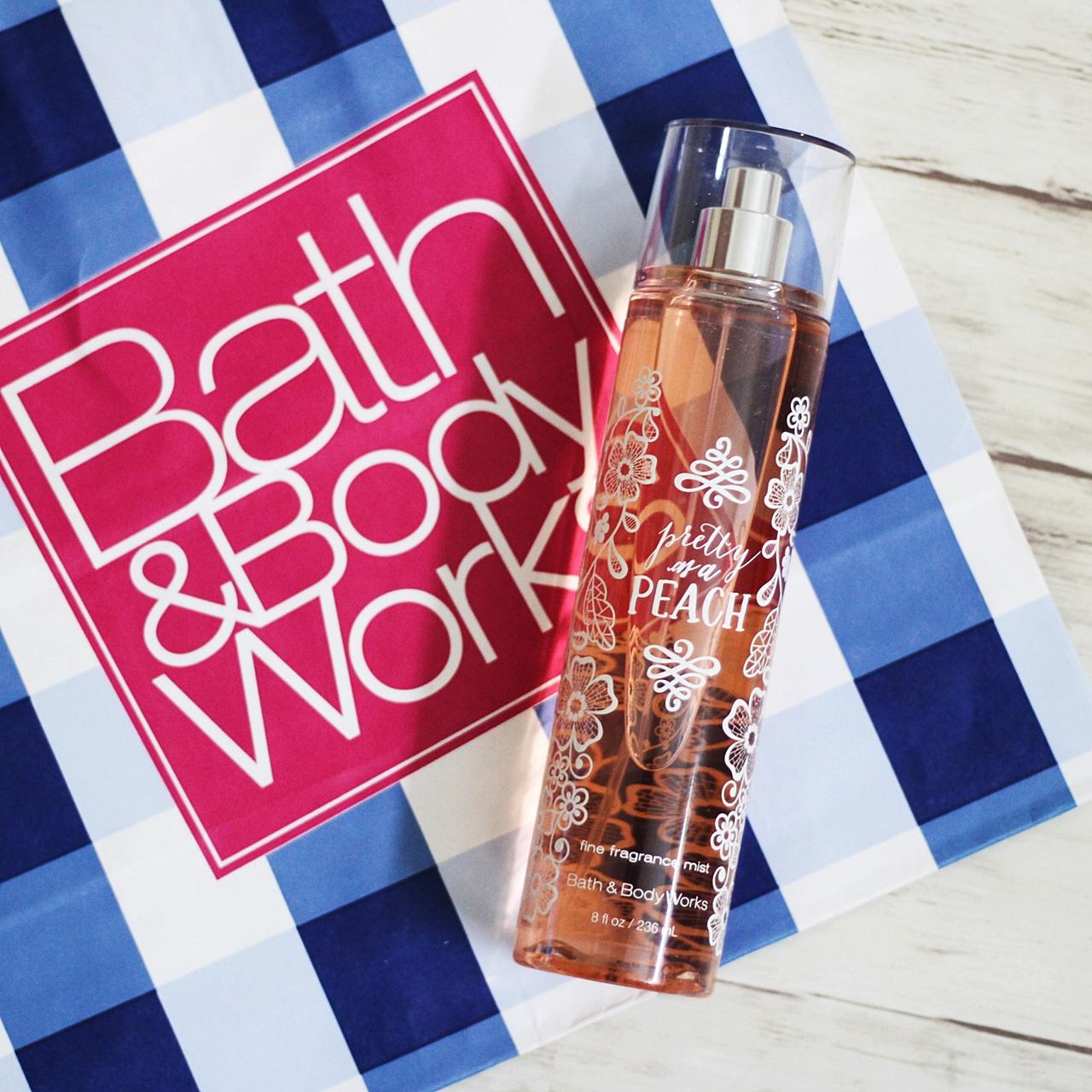 Bath & Body Pretty As A Peach Fragrance Mist