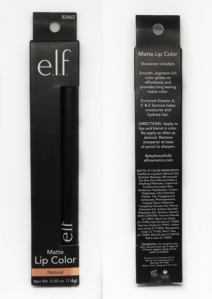 ELF Matte Lip Color Lipstick Natural