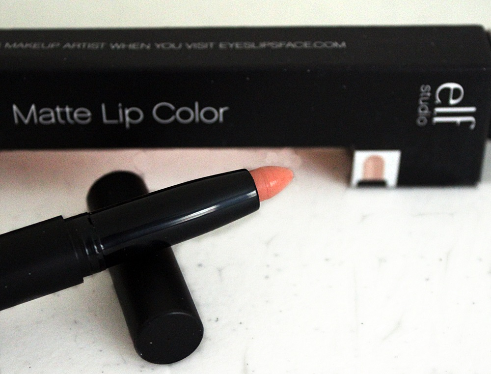 ELF Matte Lip Color Nearly Nude Lipstick