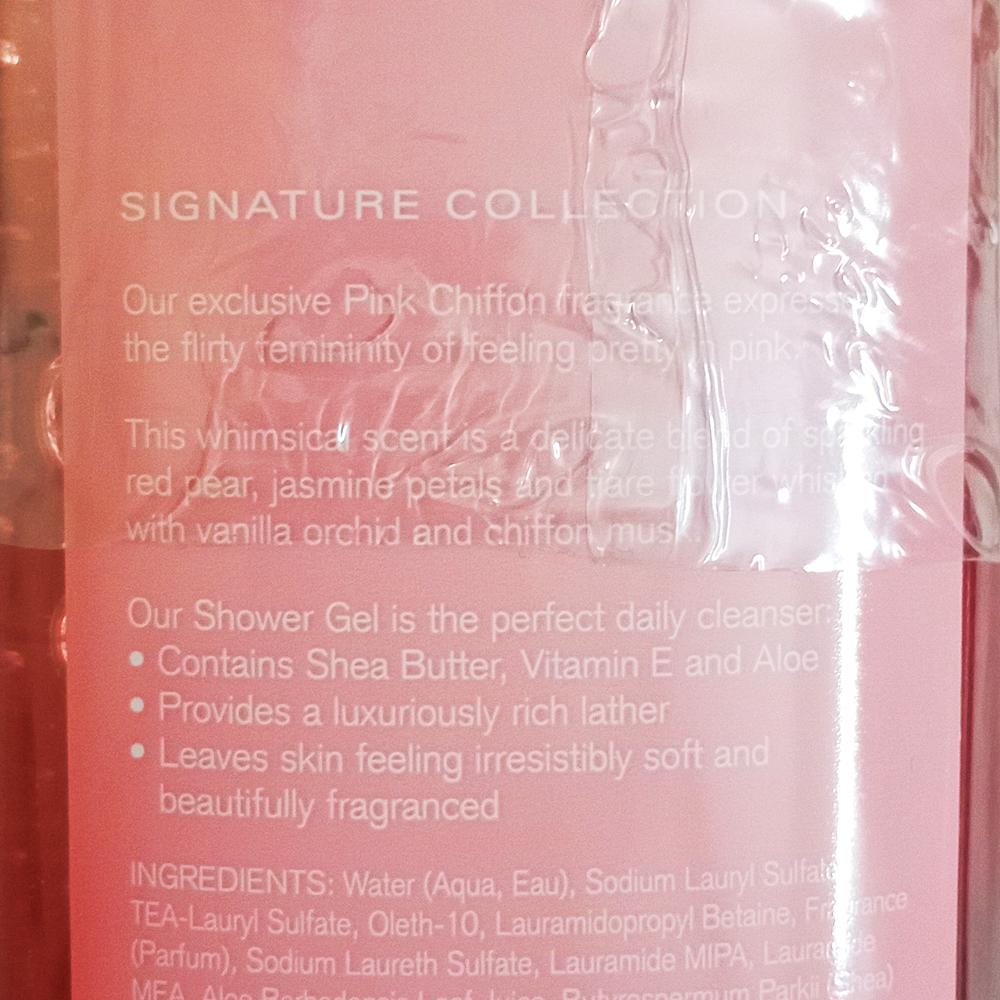 Bath & Body Works Pink Chiffon Shower Gel 295ml