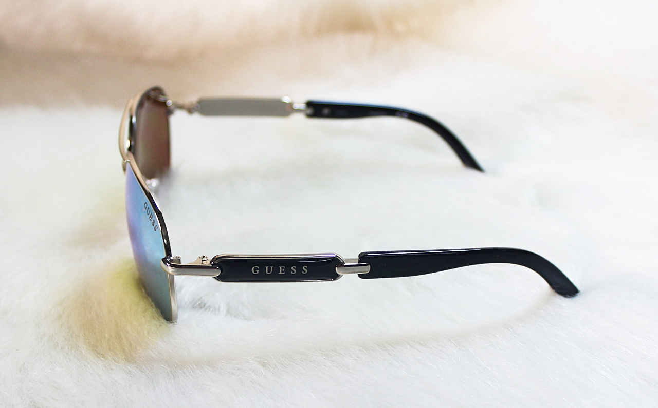 Guess Aviator Mirror Black Sunglasses GU7295