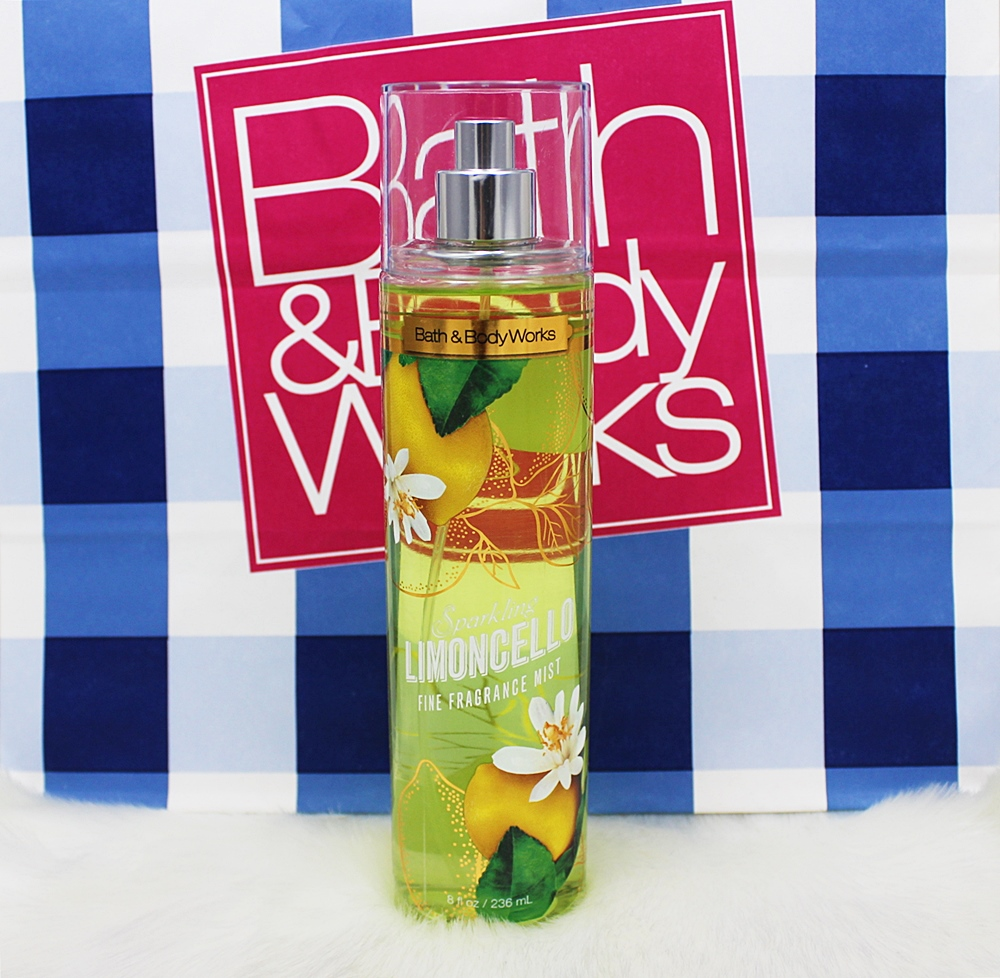 Bath & Body Works Sparkling Limoncello Fragrance Mist 236ml