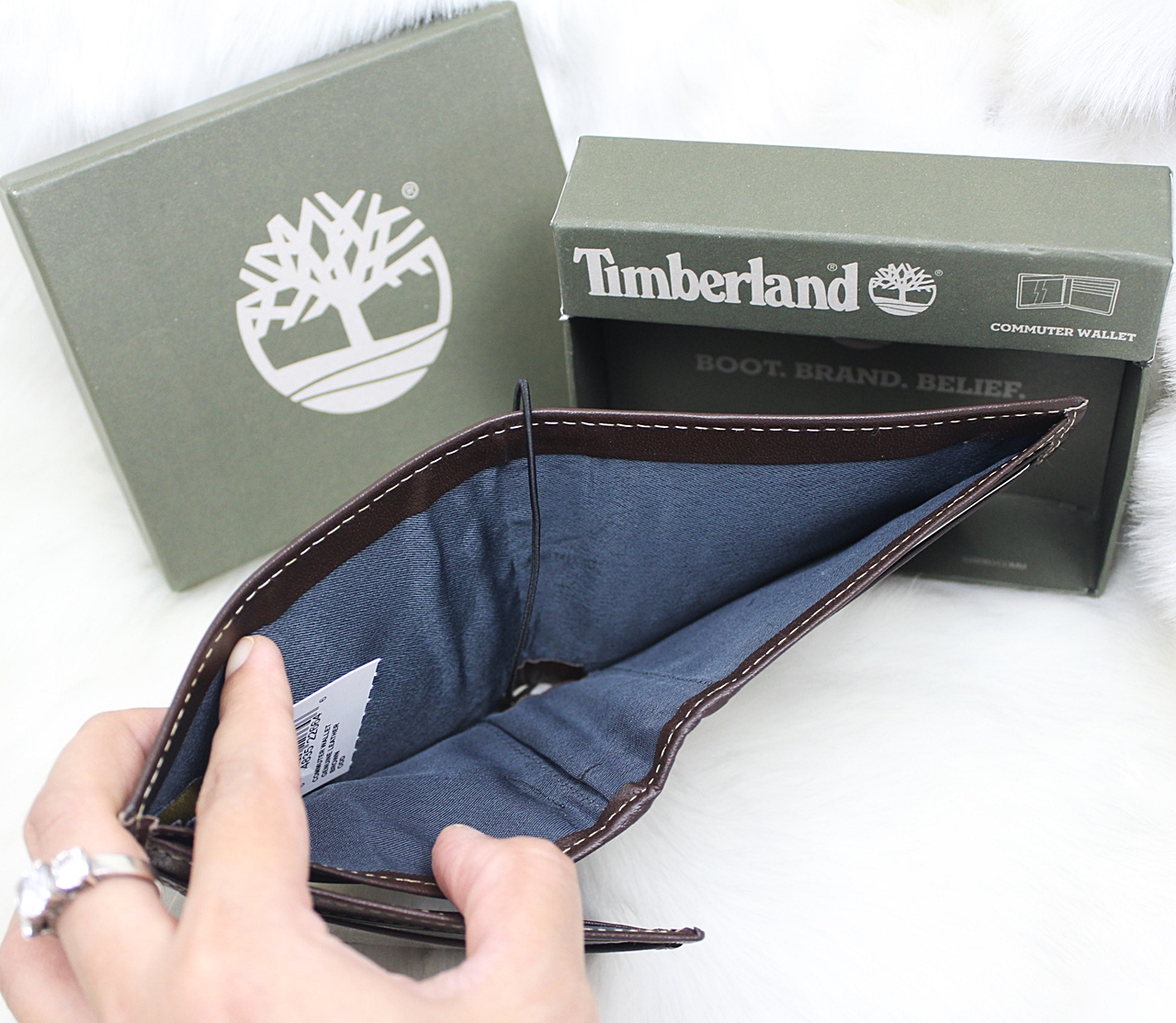 Timberland Hunter Men Wallet Coffee/Coffee