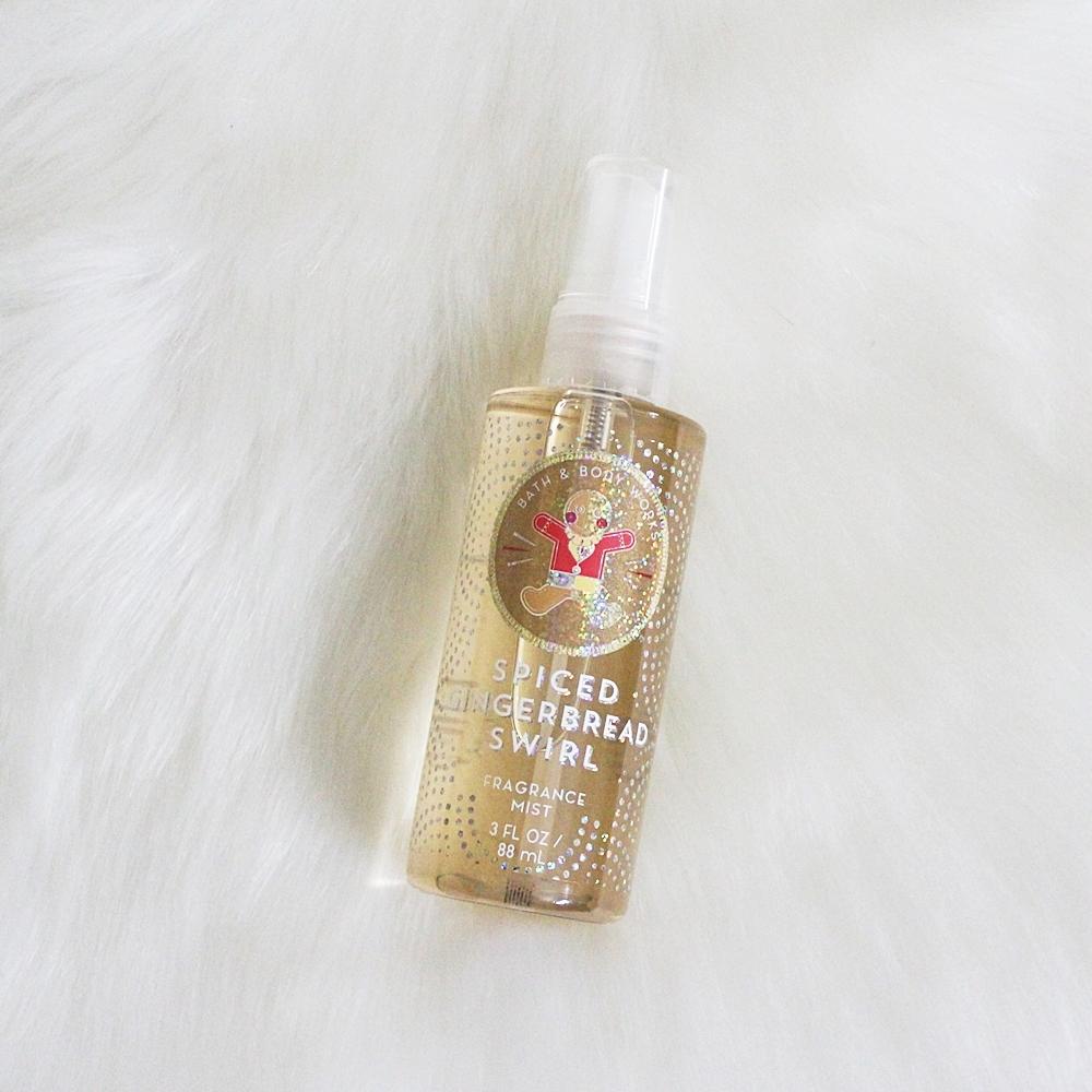 Bath & Body Works Spiced Gingerbread Swirl Travel Fragrance Mist 88ml