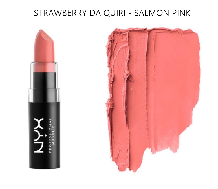 NYX Matte Lipstick Strawberry Daiquiri