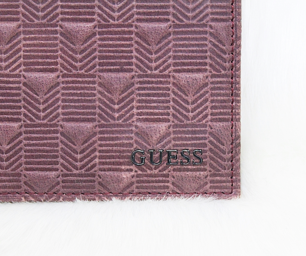 Guess Ashby Leather Bifold Men Wallet Brown