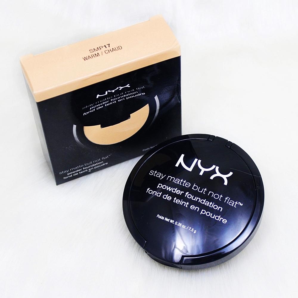 NYX Warm Stay Matte But Not Flat Powder Foundation