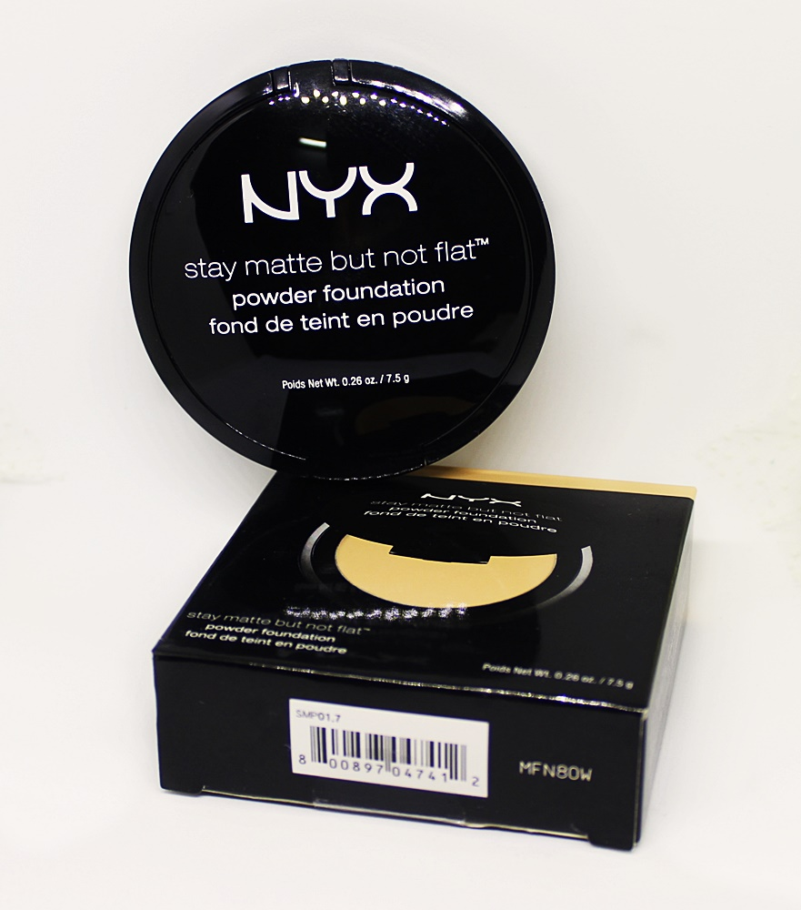 NYX Nude Beige Stay Matte But Not Flat Powder Foundation