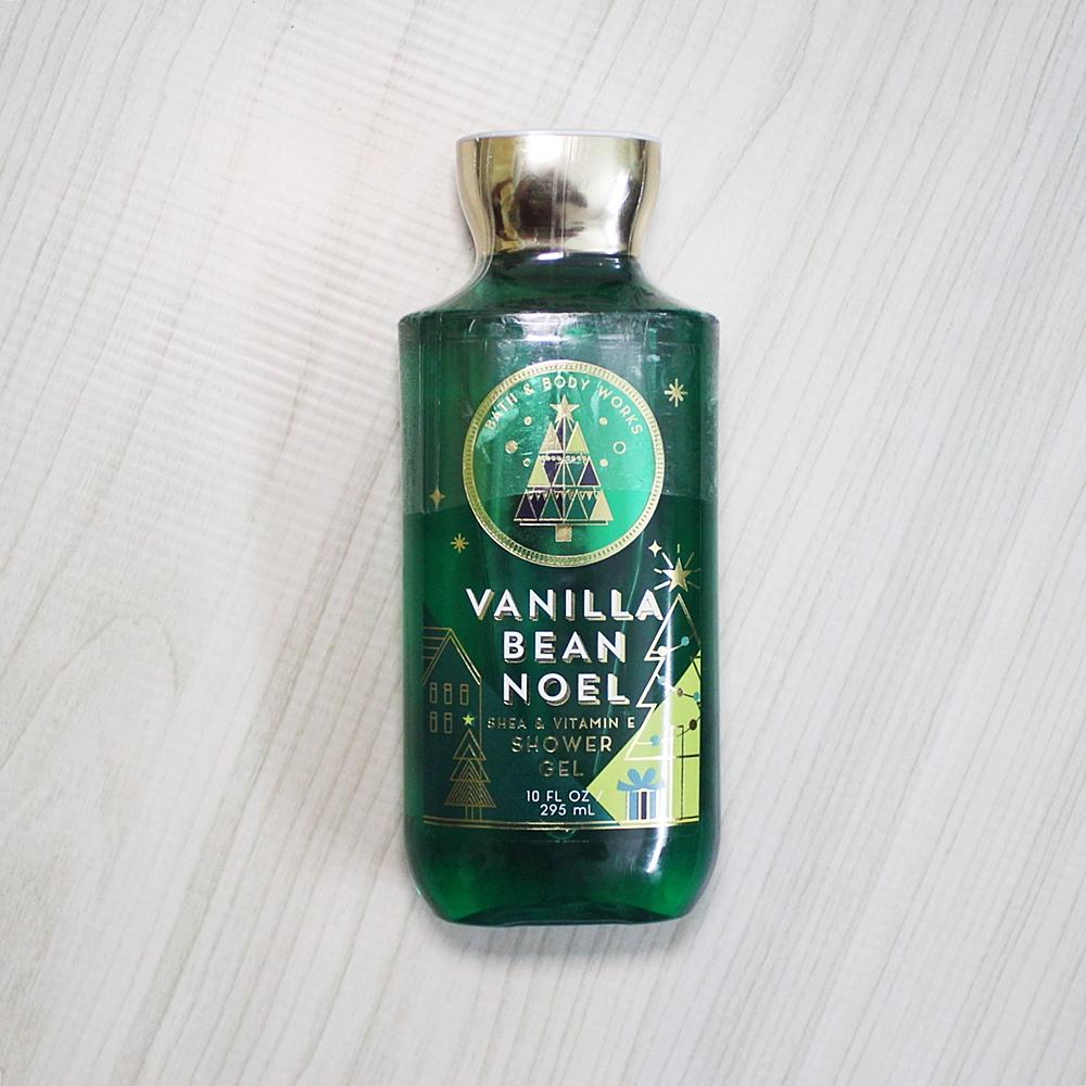Bath & Body Works Vanilla Bean Noel Shower Gel 295ml