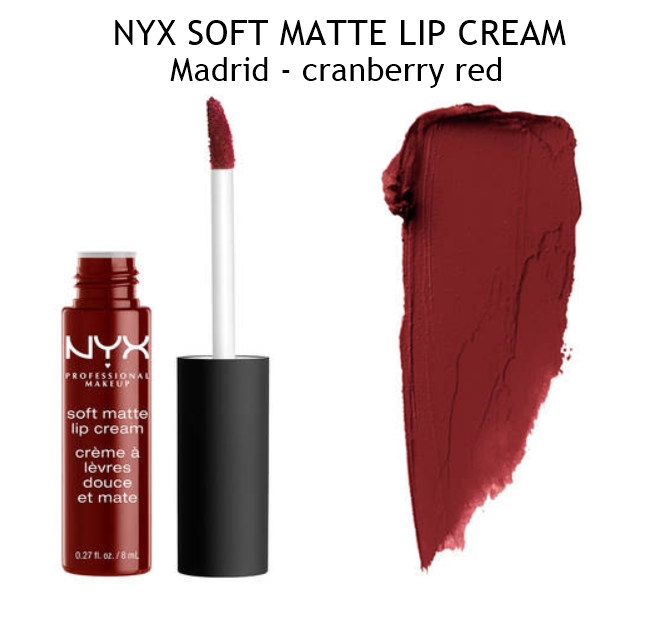 NYX Madrid Soft Matte Lip Cream