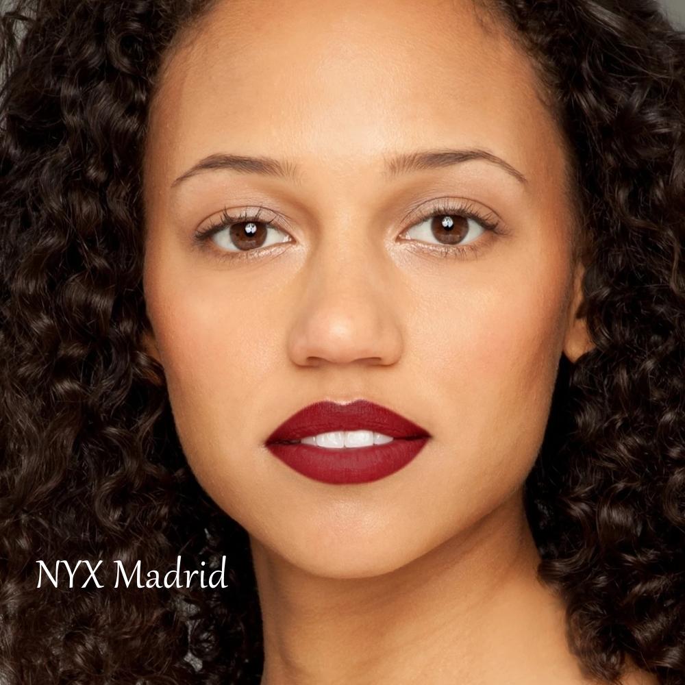 NYX Madrid Soft Matte Lip Cream