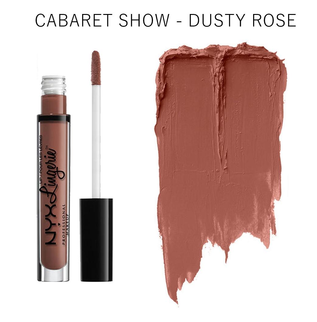 NYX Cabaret Show Lip Lingerie Liquid Lipstick