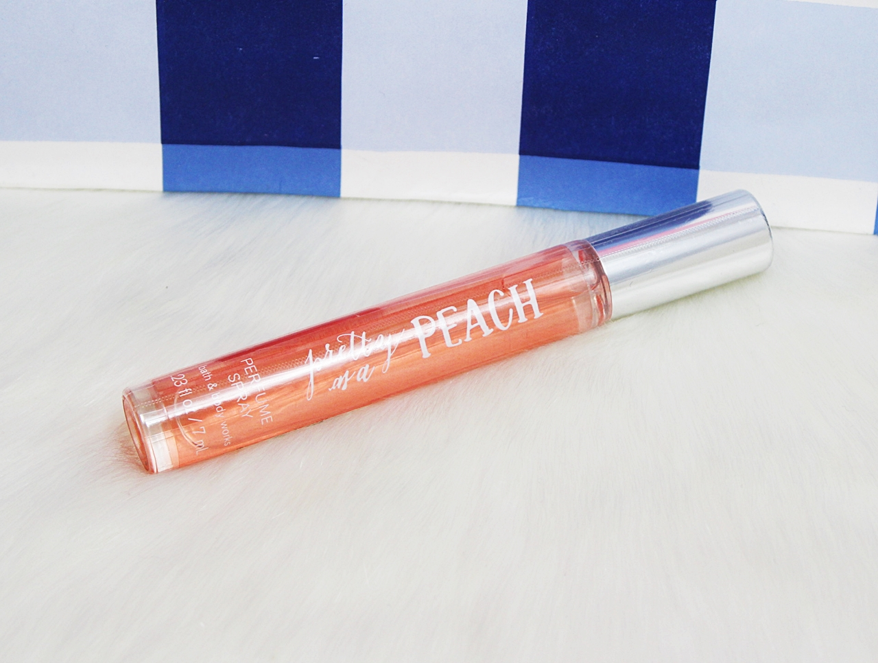 Bath & Body Works Pretty As A Peach Mini Perfume EDP Spray 7ml