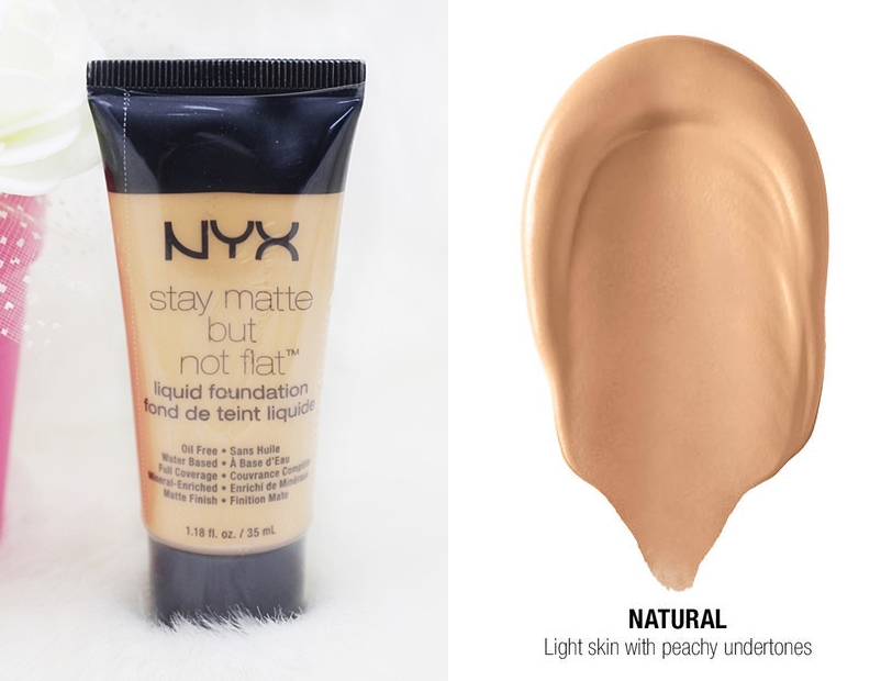 NYX Natural Stay Matte But Not Flat Liquid Foundation