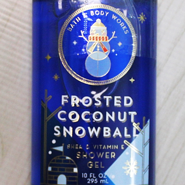 Bath & Body Works Frosted Coconut Snowball Shower Gel 295ml
